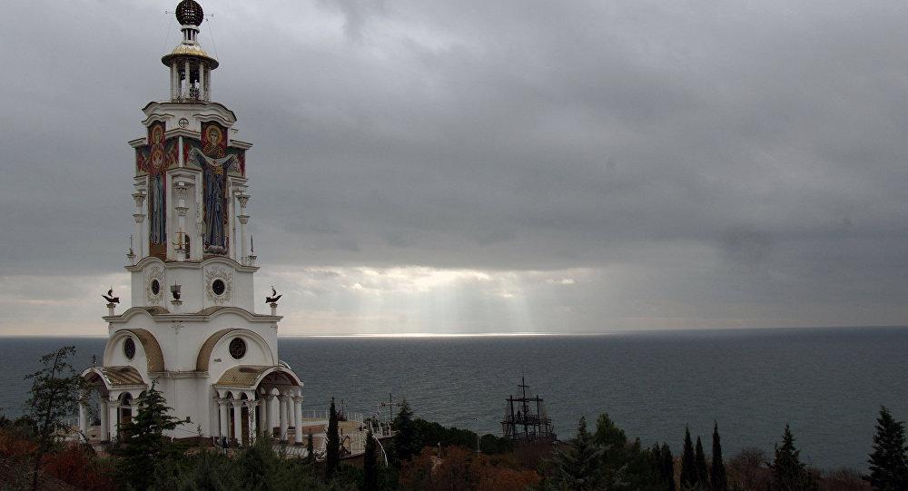 Una chiesa realizzata da Andrey Bogolyubov