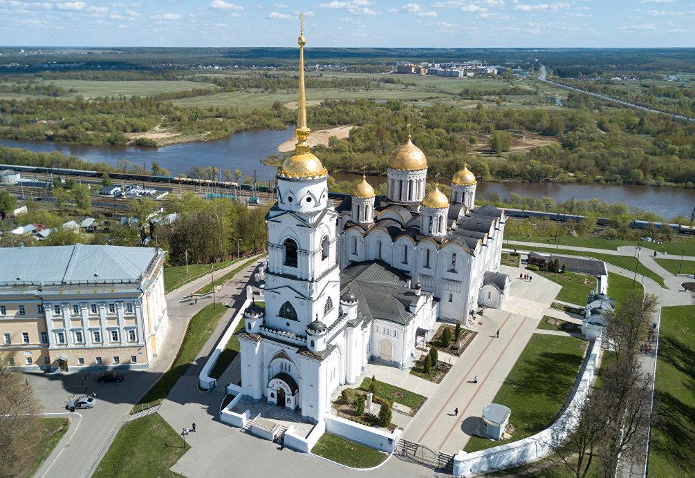 La cattedrale della Natività della Beata Vergine Maria a Vladimir