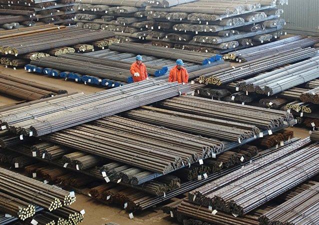 Centro siderurgico in Cina