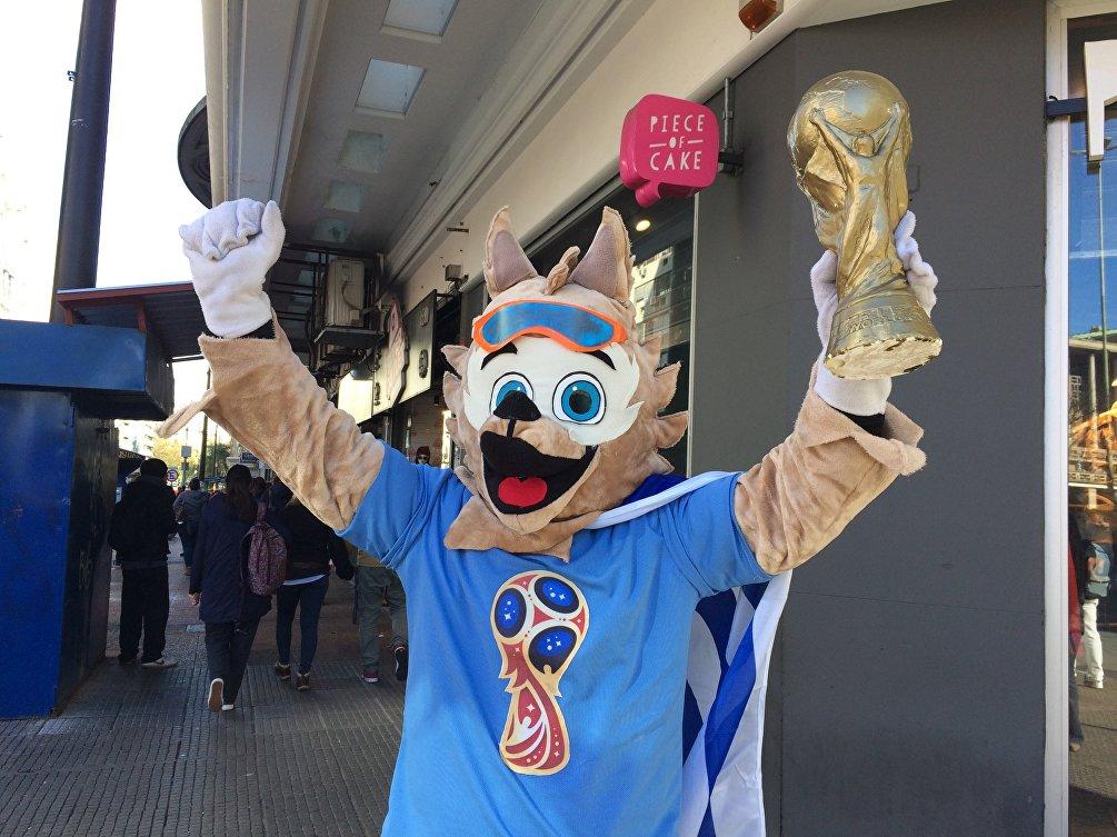 La mascotte mondiale dell'Uruguay