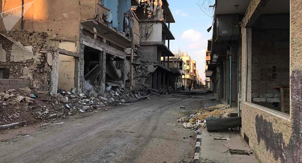 Edifici distrutti ad Homs