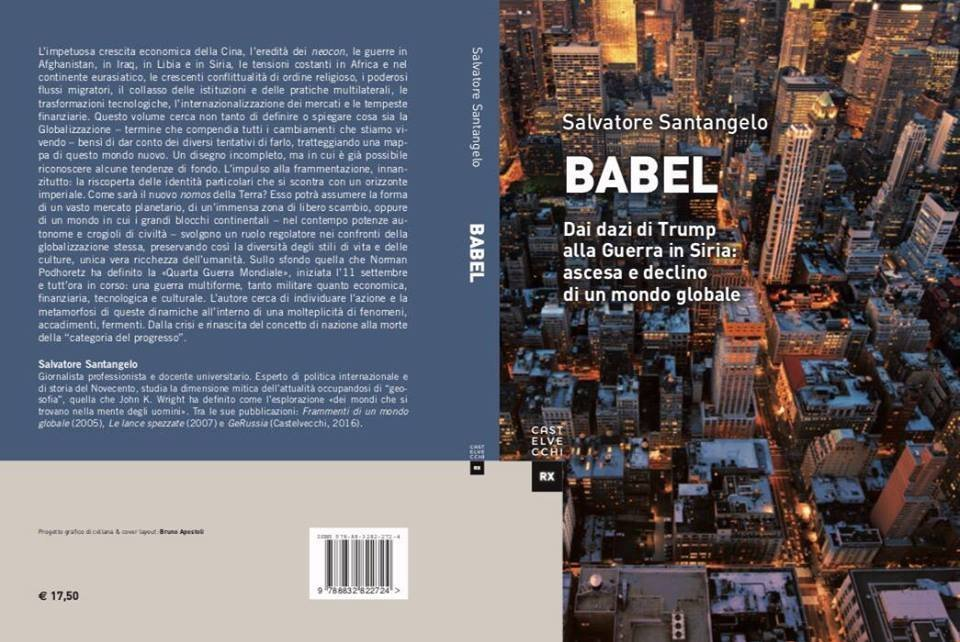 Il libro Babel da Salvatore Santangelo