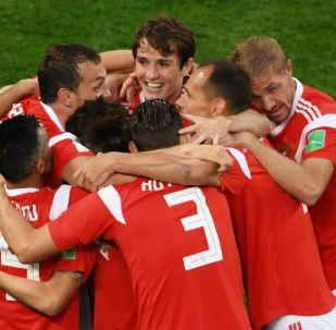 Calciatori della nazionale russa
