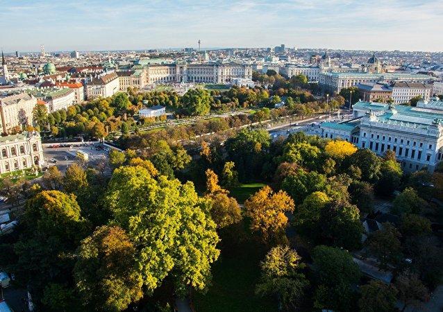 La vista di Vienna