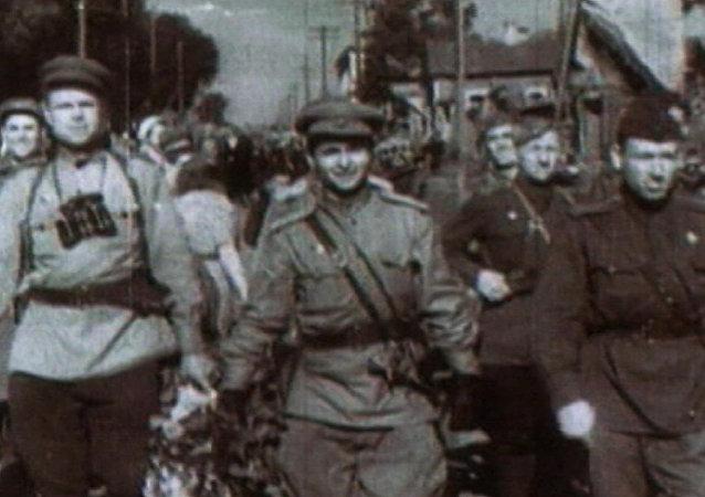 Minsk liberata dai nazisti