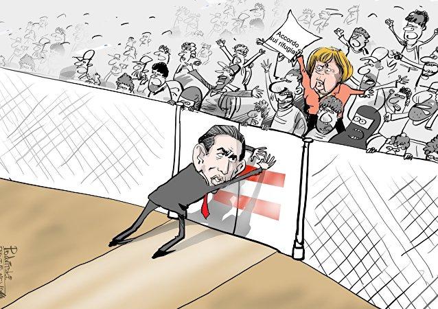 Kurz VS Merkel