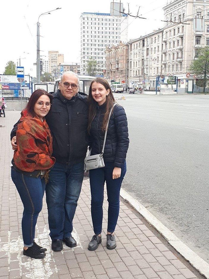 La famiglia di Antonio a Chelyabinsk