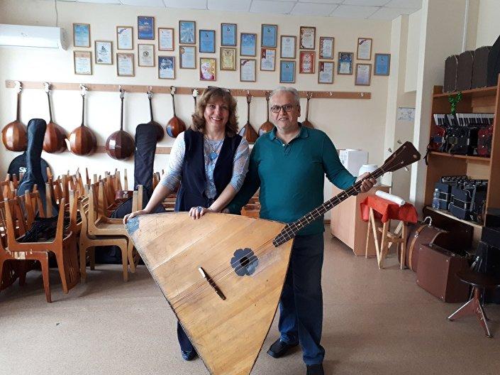 Il padre di Antonio Campa in visita a Chelyabinsk
