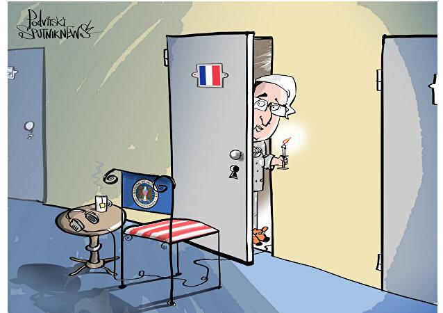 USA Francia spionaggio