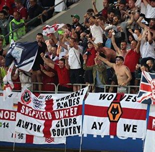 Tifosi inglesi ai Mondiali in Russia