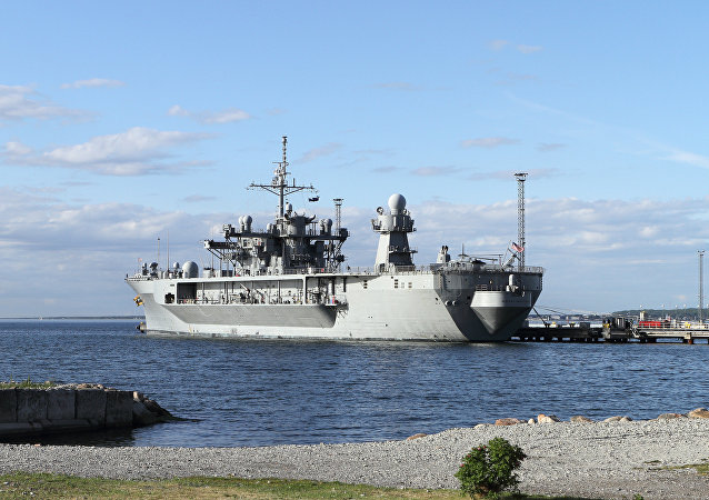 The USS Mount Whitney, the flagship of the US Sixth Fleet, has reached the port of Tallinn, Estonia, to take part in the NATO international military exercise, Baltops (Baltic Operations).