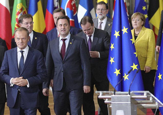 I leader dell'UE