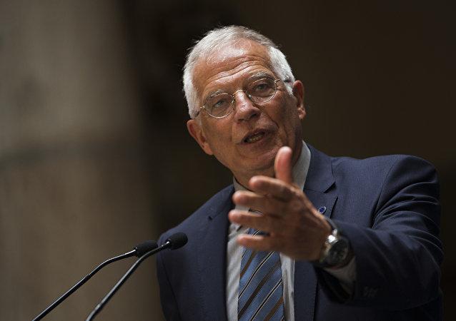 Josep Borrell, ministro degli Esteri spagnolo