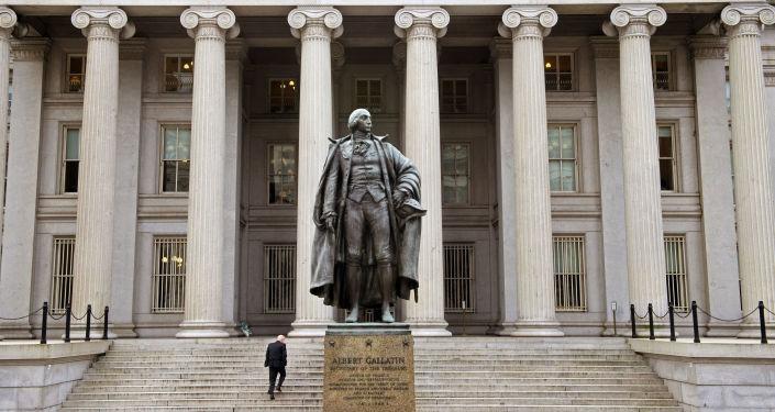 La sede del Tesoro USA a Washington