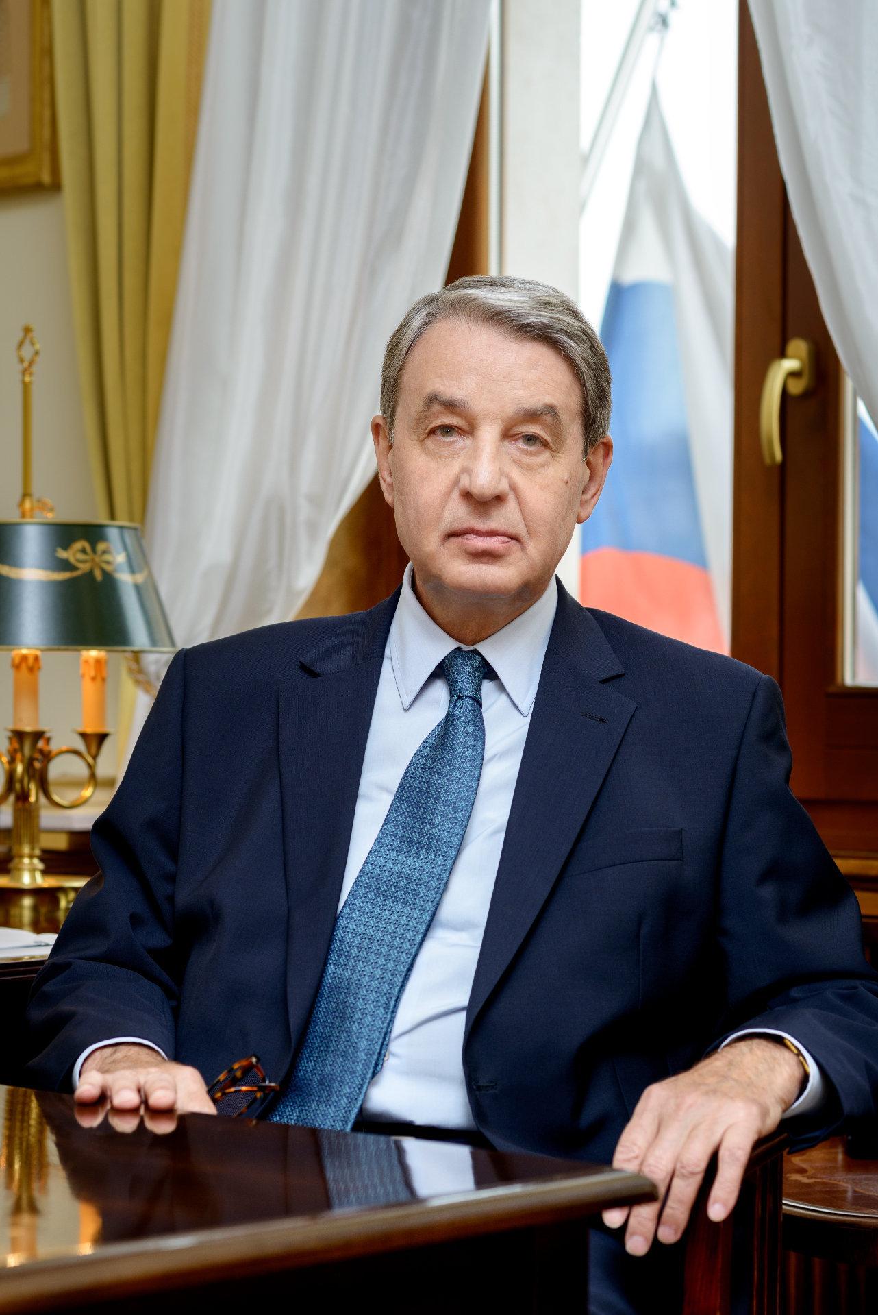 L'ambasciatore russo in Vaticano Aleksandr Avdeev