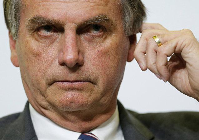 Jair Bolsonaro, deputato brasiliano e candidato alle elezioni presidenziali