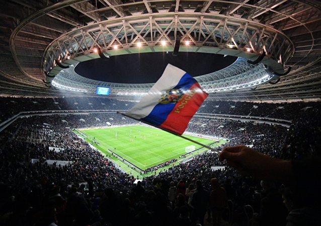 Lo stadio Luzhniki