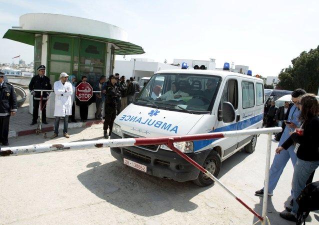 Autoambulanza a Tunisia