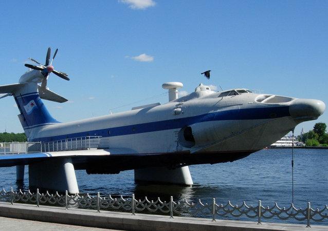 Lo schermoplano A-90 Orlyonok a Mosca