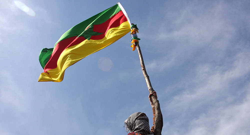 La bandiera del PKK