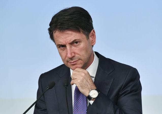 Premier dell'Italia Giuseppe Conte
