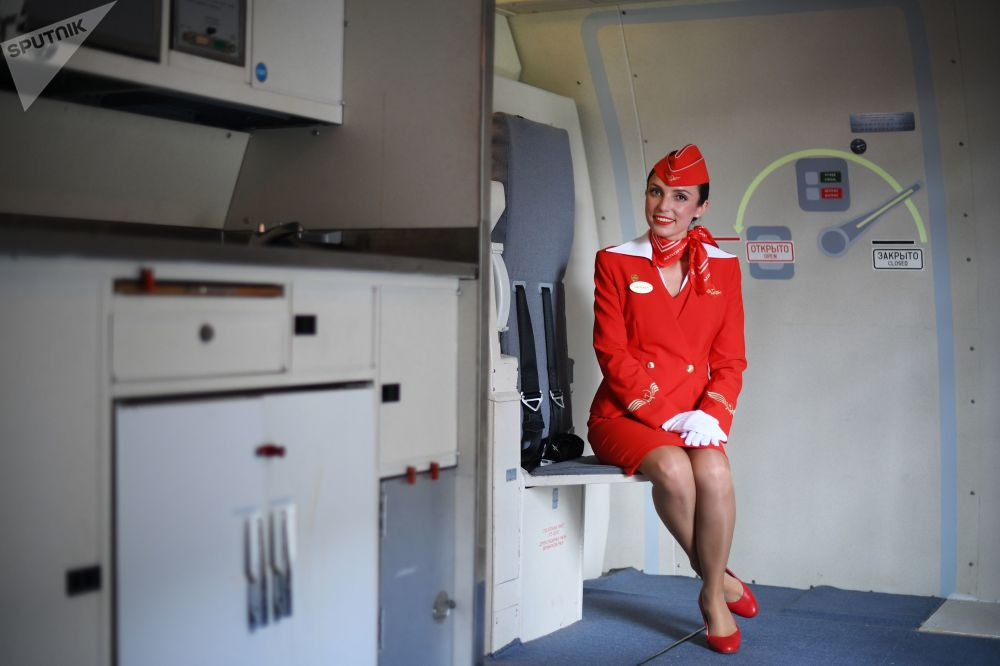 Come si diventa hostess Aeroflot