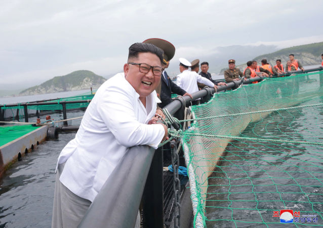 Kim Jong-un ha visitato la fabbrica di lavorazione delle saline