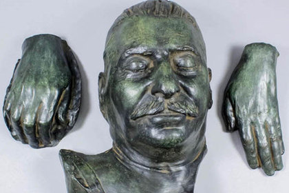 Maschera mortuaria di Stalin