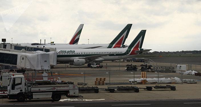 Aerei della compagnia aerea Alitalia