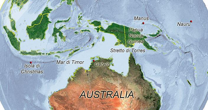 Australia, mappa immigrazione clandestina