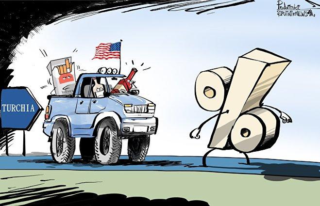 Turchia ha aumentato i dazi per i prodotti statunitensi