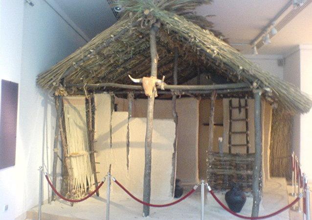 Ricostituzione di una casa di Vinča