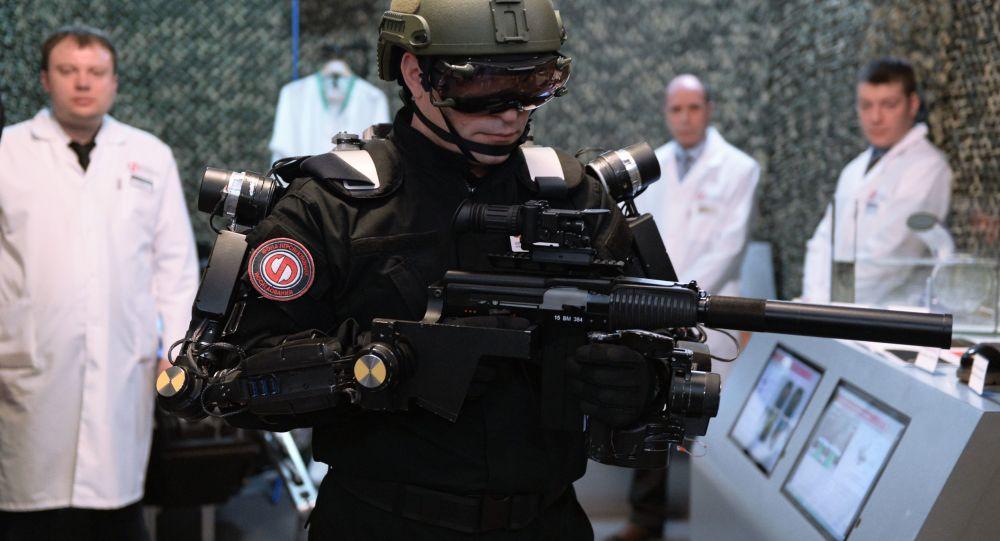 Esoscheletro per il soldato del futuro
