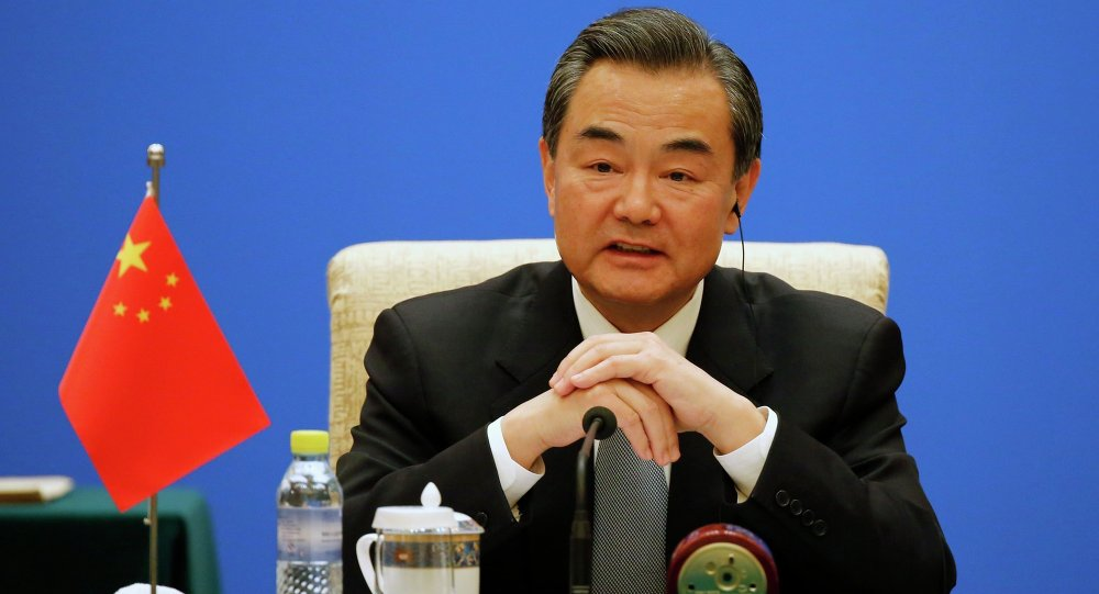 Wang Yi, ministro degli esteri della Cina