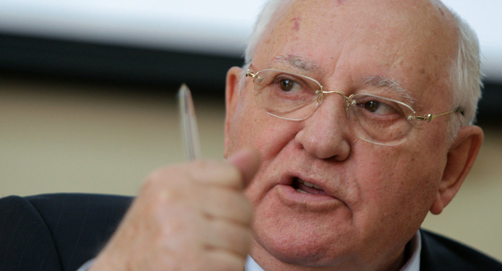 Mikhail Gorbaciov, ultimo presidente dell'URSS