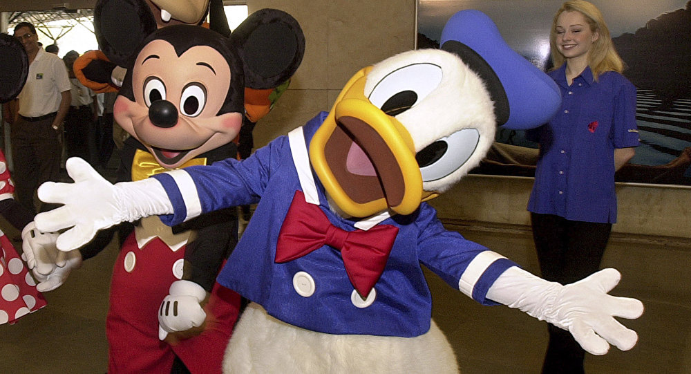 Mickey Mouse e Donald Duck
