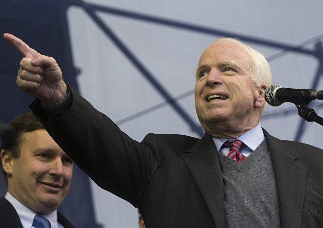 US Senator John McCain. (File)
