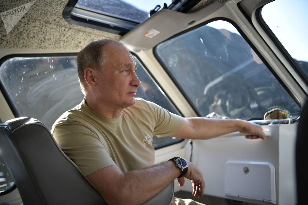 Le vacanze di Vladimir Putin