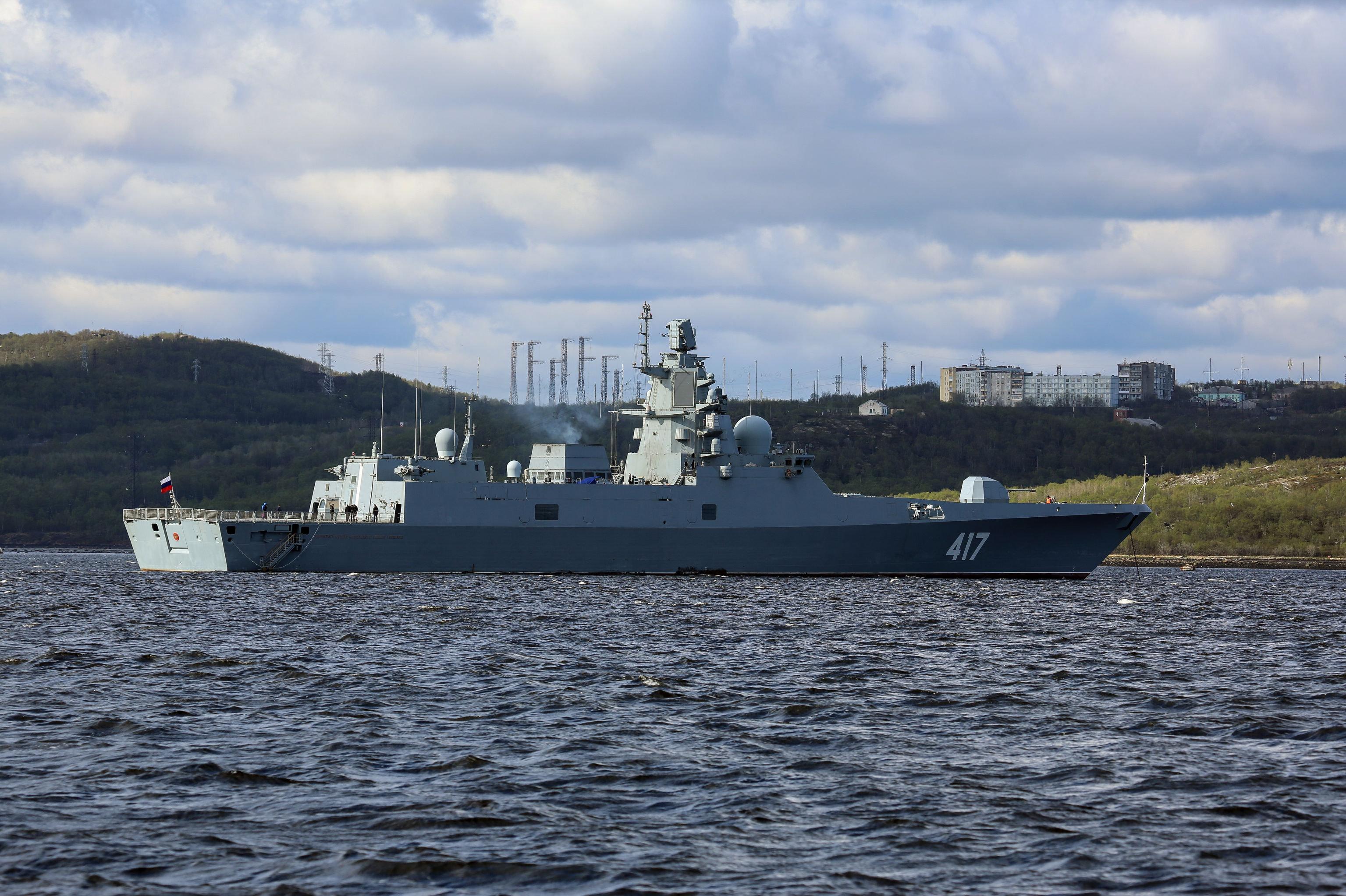 La nave Admiral Gorshkov