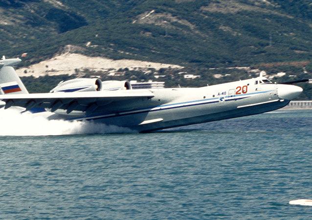 Aereo anfibio A-40