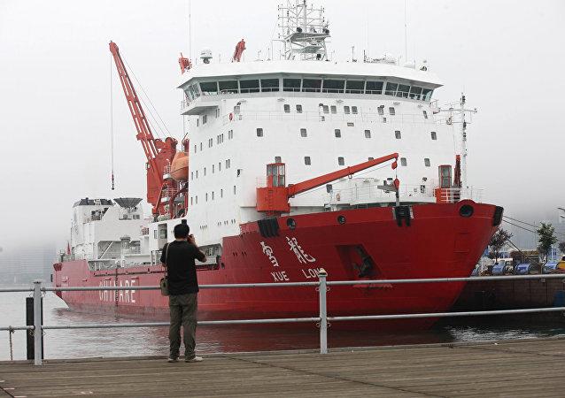 La Rompighiaccio Xuelong, della stessa classe alla quale appartiene la Xuelong-2