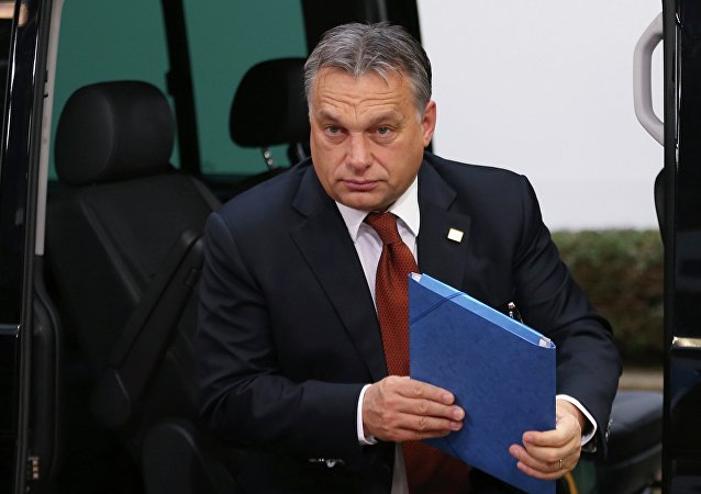 Hungary's Prime Minister Viktor Orban arrives at an European Union leaders summit in Brussels October 24, 2014.