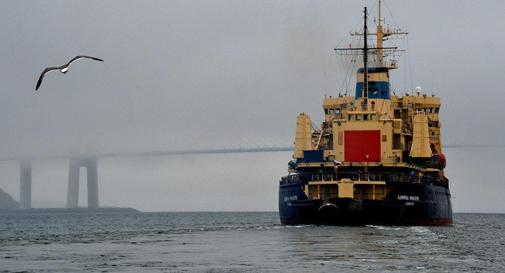 La rompeghiaccio Admiral Makarov