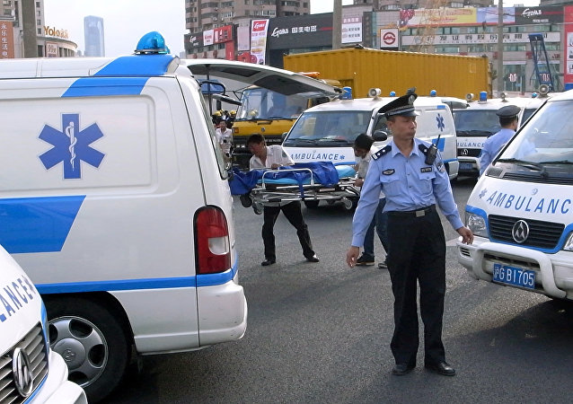 Ambulanza in Cina