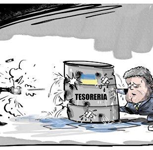 Poroshenko nega possibilità di default in Ucraina nel 2019