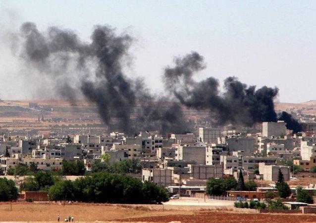 Raid in Siria (foto d'archivio)