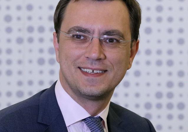 Vladimir Omelyan, ministro delle Infrastrutture dell'Ucraina