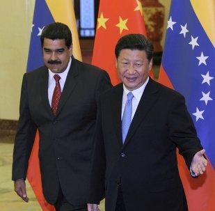 Nicolas Maduro e Xi Jinping