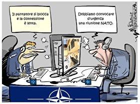 La NATO vuole rispondere a attacchi informatici provenienti dalla Russia