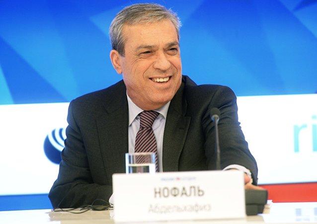 Ambasciatore della Palestina nella Federazione Russa Abdel Hafiz Nofal